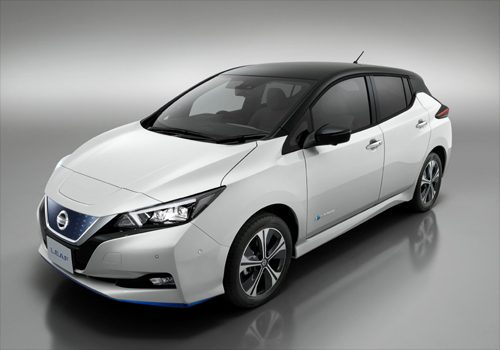 Nissan announce additions to LEAF range of electric vehicles