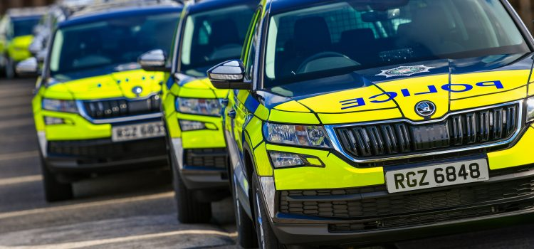 FIFTY SKODA KODIAQ SUVs ADDED TO FLEET OF POLICE SERVICE OF NORTHERN IRELAND